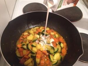 Sahne Cuisine Gemüse Curry vegan