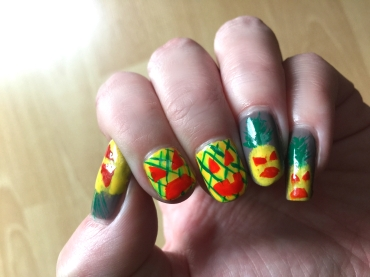 halloween-nails_ananas-nails