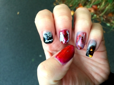 halloween-nails_kuerbis-nailart-foil