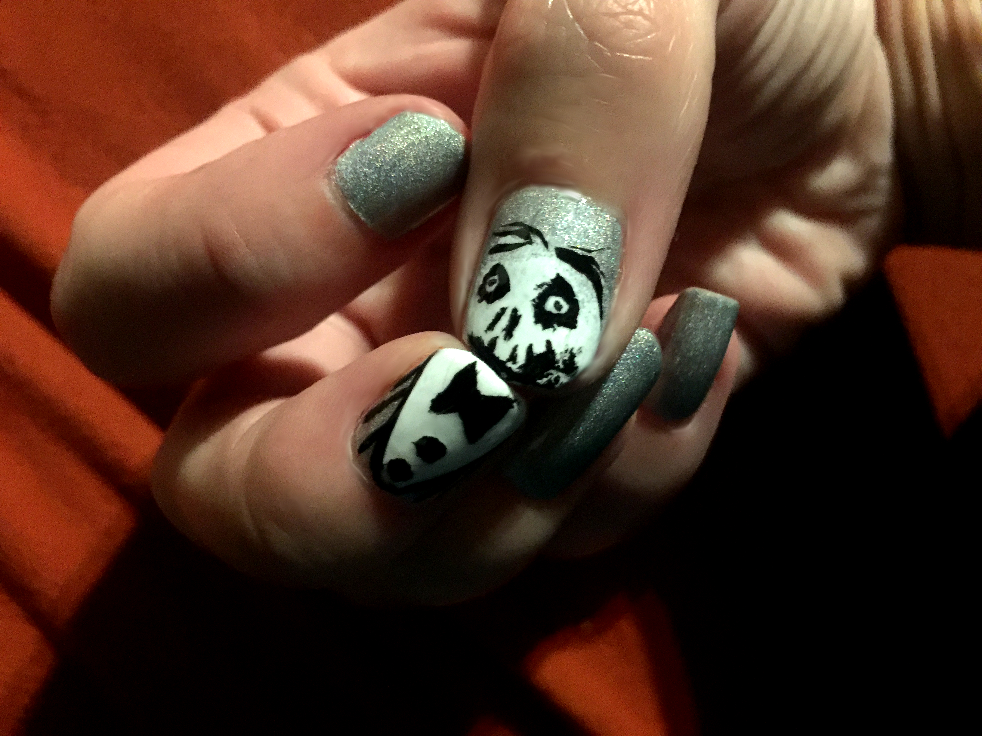 Halloween Nailart | bloody, scary, fruity – Nimm-s