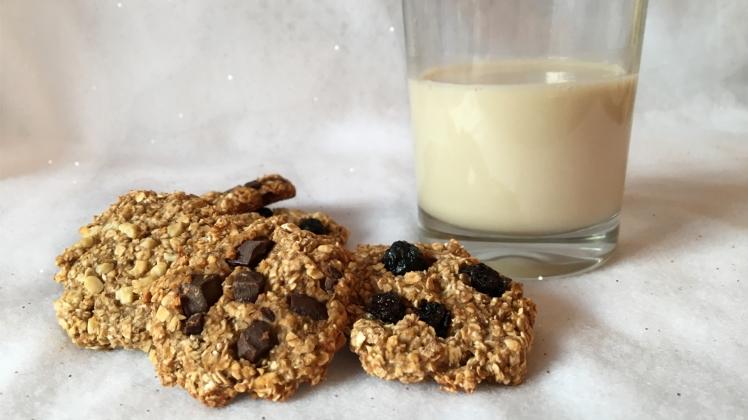 bananen-hafer-cookies