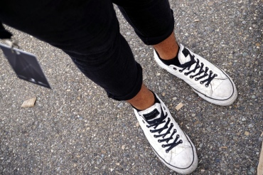 Streetstyle-Adidas-Boy-Arman-Uderzo-Schuhe